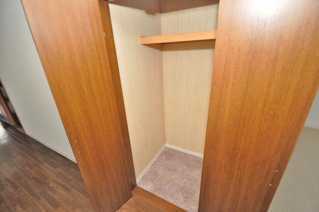 ベルビュー もちろん収納スペースも確保。お部屋がスッキリ片付きますね。