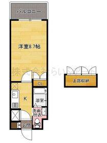 ハーバーサウスタワー No.70 : 11階間取図