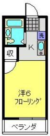 天王町駅 徒歩6分2階Fの間取り画像