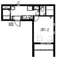 プリマヴェーラ馬込3階Fの間取り画像