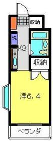 ミヨシビル2階Fの間取り画像