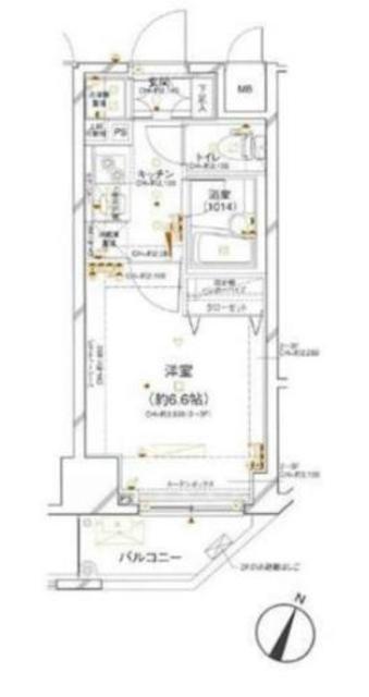 赤羽橋駅 徒歩3分間取図