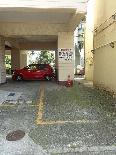 睦ハイツ駐車場