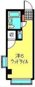 南第一ビル3階Fの間取り画像