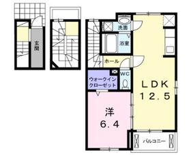 グランコート3階Fの間取り画像