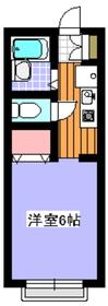 パークフジイ2階Fの間取り画像