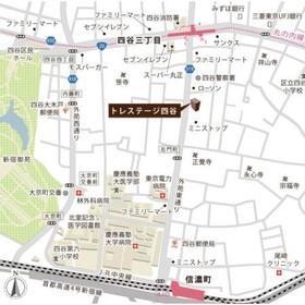 トレステージ四谷案内図