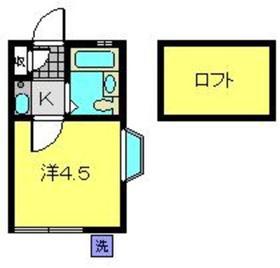 オメガパレス菊名2丁目1階Fの間取り画像