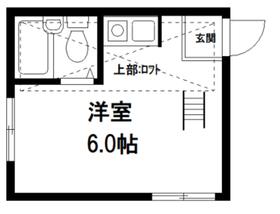 V・I・P成増2階Fの間取り画像