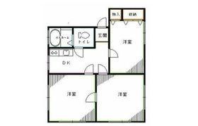 阿佐ヶ谷ミツワハイム2階Fの間取り画像