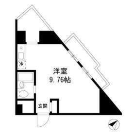 大井町駅 徒歩3分4階Fの間取り画像