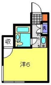 日吉駅 徒歩18分1階Fの間取り画像