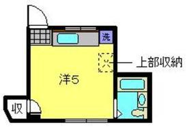 ヴィラ石倉3階Fの間取り画像