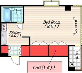 パークヒル用賀Ⅲ3階Fの間取り画像