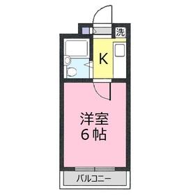ブリランテ上福岡2階Fの間取り画像
