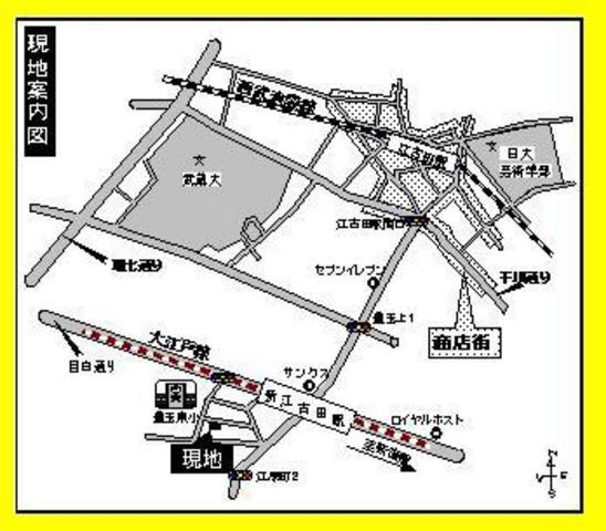 クラインドルフY案内図