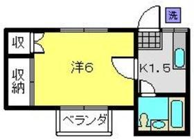 ユーハイム白楽2階Fの間取り画像