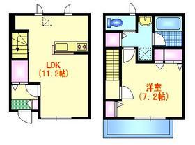 袋山メゾン2階Fの間取り画像