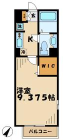桜館2階Fの間取り画像