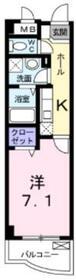 フェリーチェ宮崎台1階Fの間取り画像