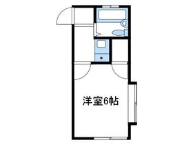 メゾン広野台2階Fの間取り画像