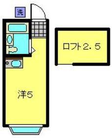 元住吉駅 徒歩13分1階Fの間取り画像