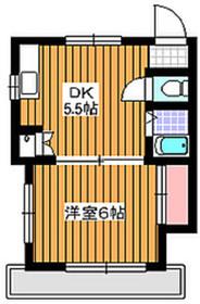 東武練馬駅 徒歩18分1階Fの間取り画像