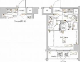 ラフィスタ川崎大師Ⅱ8階Fの間取り画像