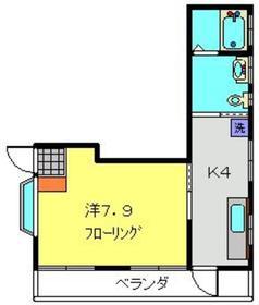 カンパーナ2階Fの間取り画像