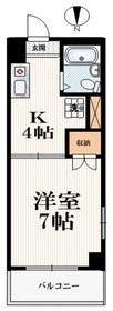 江古田駅 徒歩3分2階Fの間取り画像