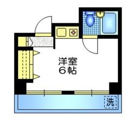 ANNEX ITO3階Fの間取り画像