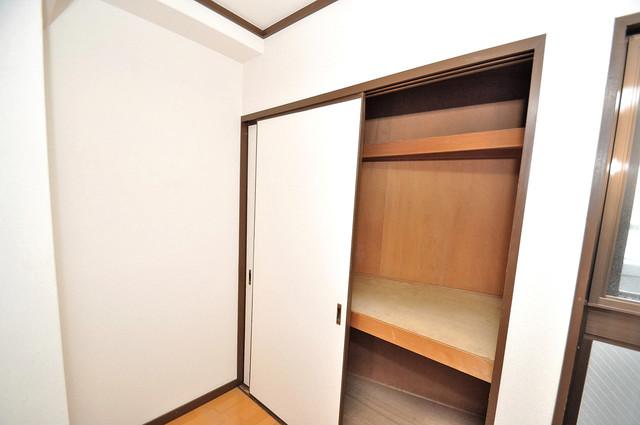 クリスタルアーク もちろん収納スペースも確保。おかげでお部屋の中がスッキリ。
