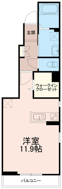 コートダジュールビー(コートダジュールB)間取図