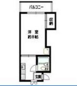 リーヴェル横浜白楽2階Fの間取り画像