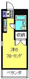 サンライト日吉1階Fの間取り画像