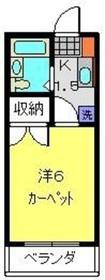 日吉第一QSハイム3階Fの間取り画像