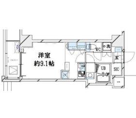 グランリーヴェル横濱大通り公園3階Fの間取り画像