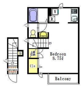 アイオーラB2階Fの間取り画像