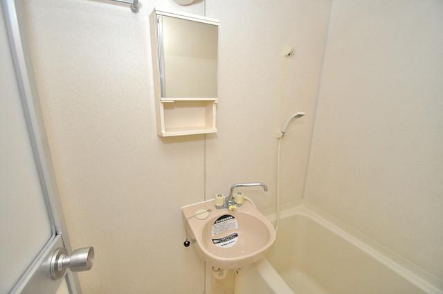 ビオス中小阪 小さいですが洗面台ありますよ