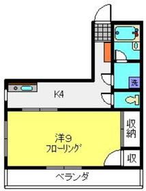 TYMマンション5階Fの間取り画像