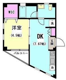 クローバーハイツ 101号室