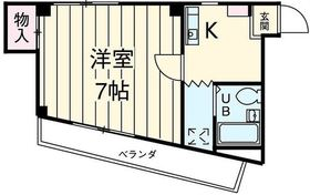 K`sハウス3階Fの間取り画像