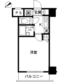 スカイコート板橋第36階Fの間取り画像