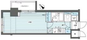 フェニックス新横濱参番館5階Fの間取り画像