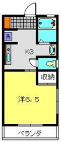 メゾンカワイ第141階Fの間取り画像