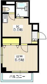 アルカディアⅠ1階Fの間取り画像