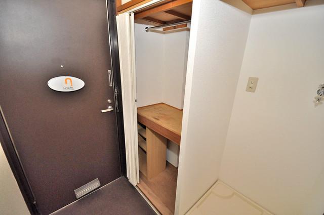 アリタマンション長瀬 もちろん収納スペースも確保。いたれりつくせりのお部屋です。