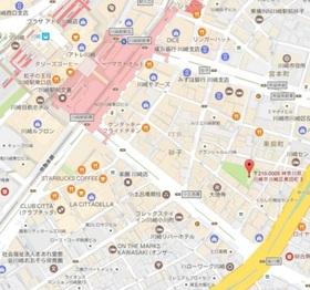 ガーラ・パークサイド川崎案内図