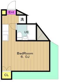 Uトピア高幡不動 ユートピアタカハタフドウ5階Fの間取り画像