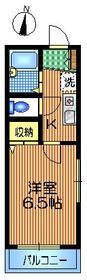 メゾン・リリーフ1階Fの間取り画像